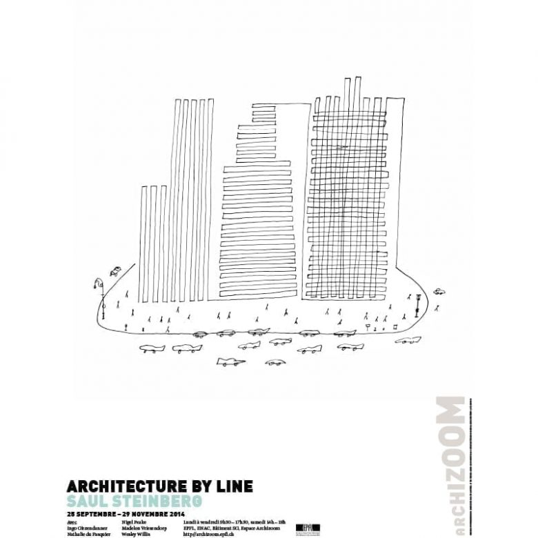 Architecture by line - Affiche