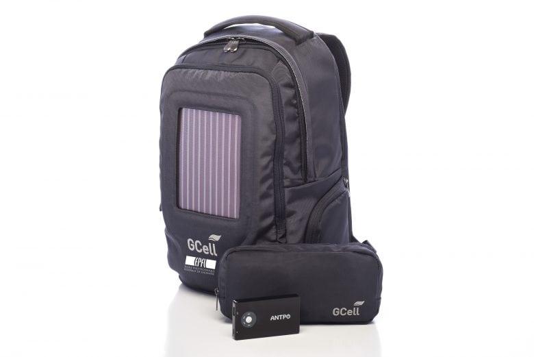 Solar bag - Graetzel