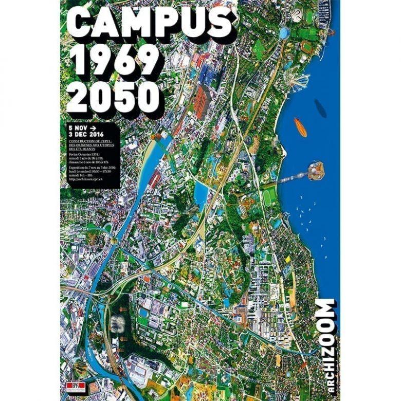 Campus 1969-2050 - Affiche