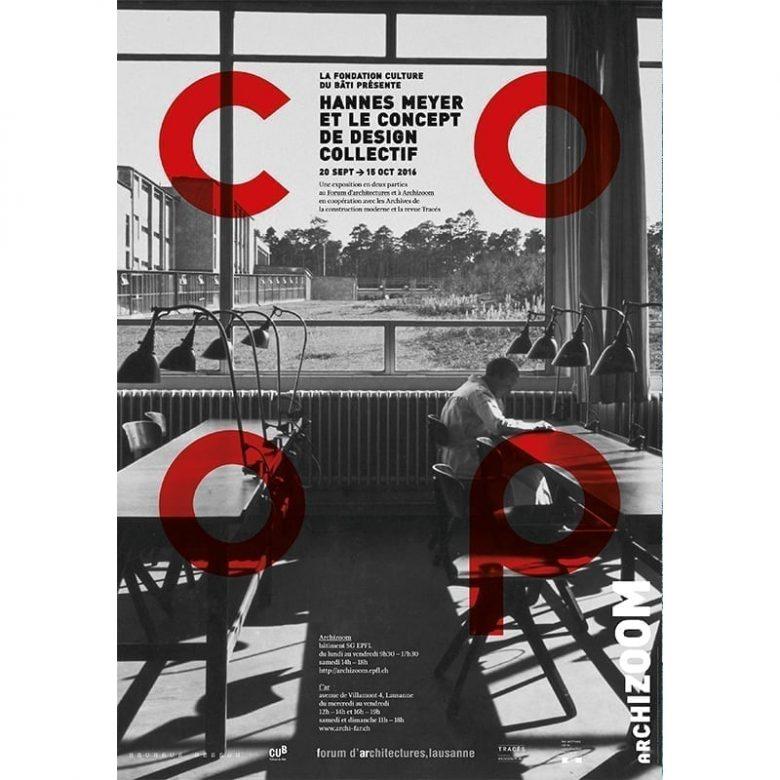 Hannes Meyer et le concept du design collectif - Affiche