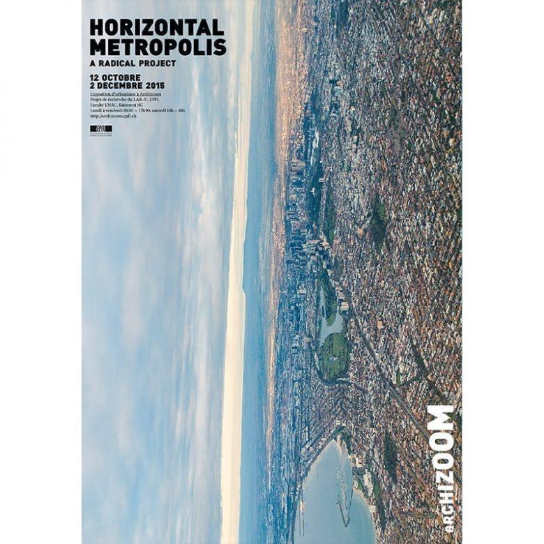 Horizontal Metropolis - Affiche