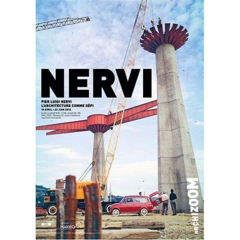 PierPier Luigi Nervi-L'architecture comme défi - Affiche