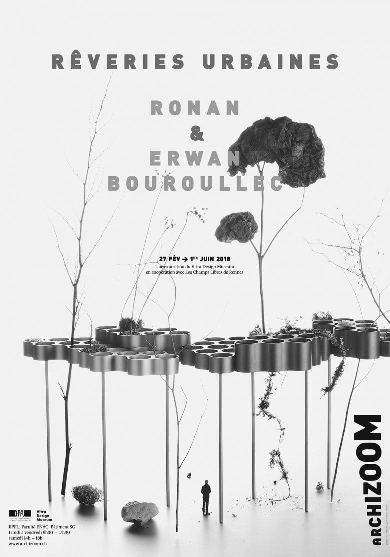 Ronan & Erwan Bouroullec - Rêveries urbaines - Affiche