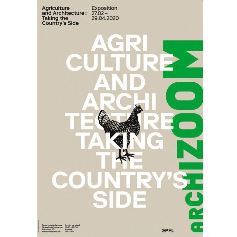 Agriculture and Architecture : Taking the Country's Side – Affiche